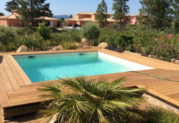Nos réalisations de piscines en Corse